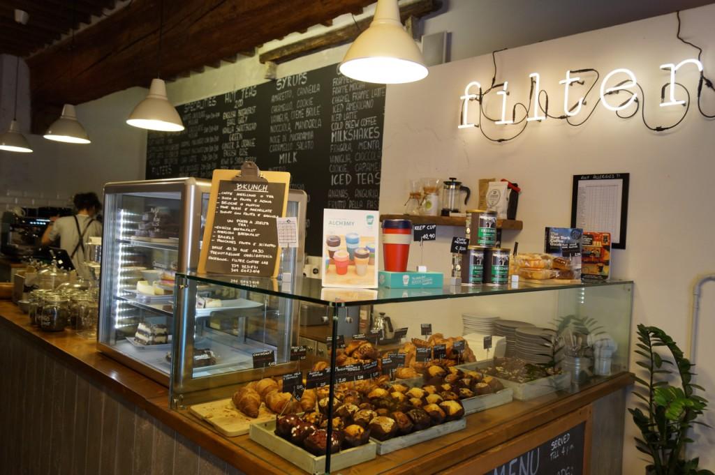 Bella Italia, Reisebericht Italien, Filter Café Pisa