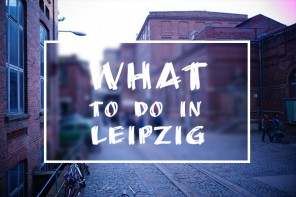 What to do in Leipzig KW 20