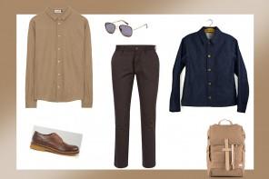 Was Mann im Herbst trägt