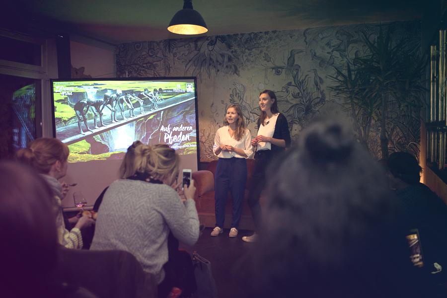 Events in Leipzig - Auf anderen Pfaden im Hostel & Garten Eden.