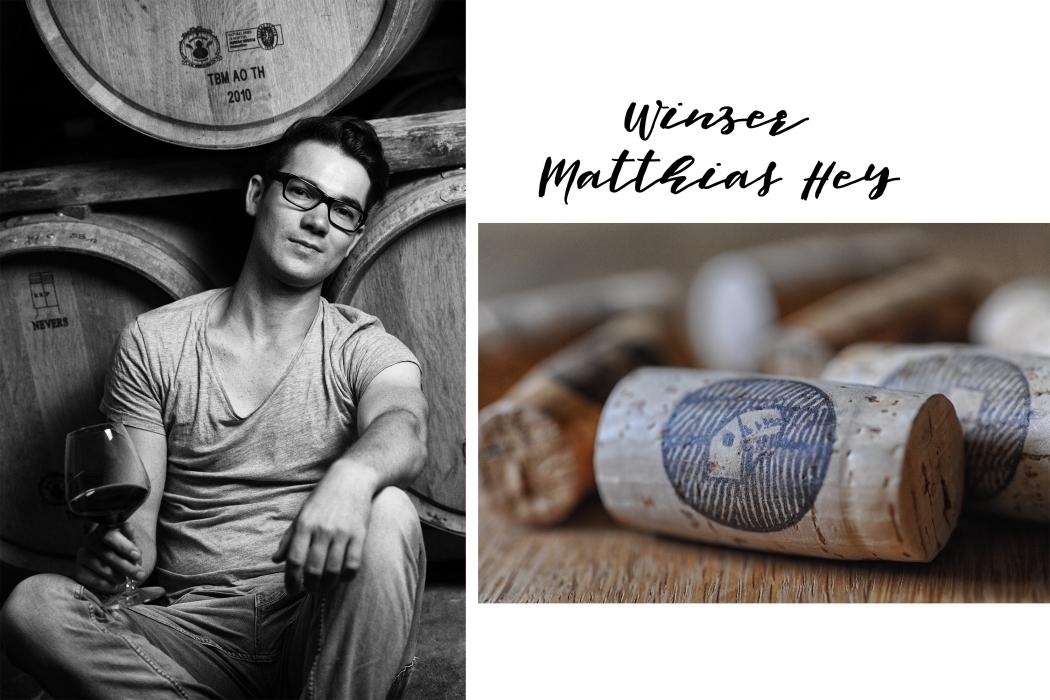 Winzer Matthias Hey vom Weingut Hey.