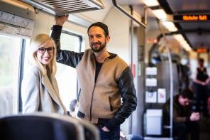 Eine Zugfahrt mit Mark Pohl
