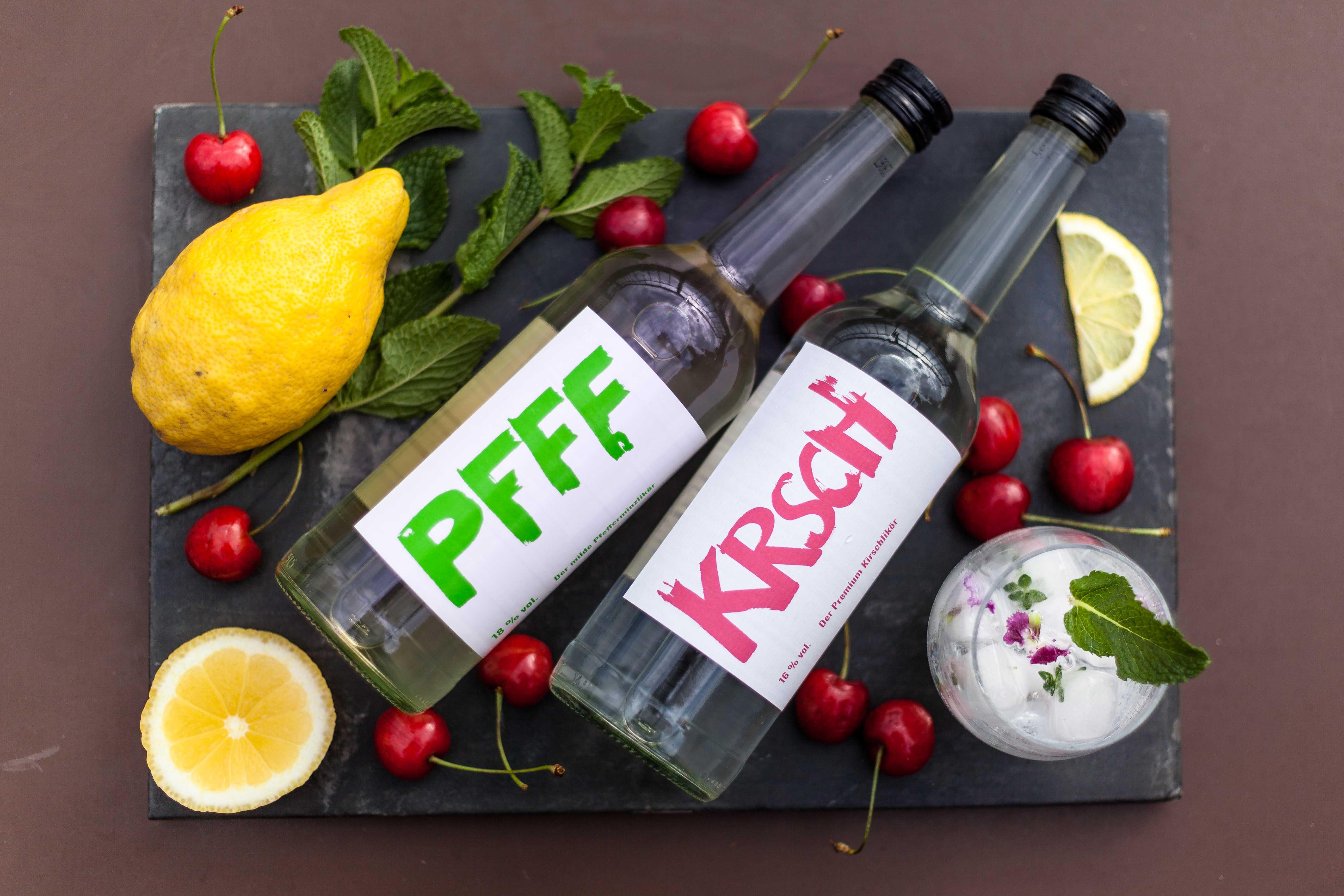 PFFF, KRSCH, Pfeffi, Kirsch, Peppermint Kiss