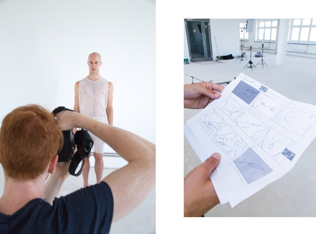 Modedesign Leipzig Bastian Stein Abschlusskollektion
