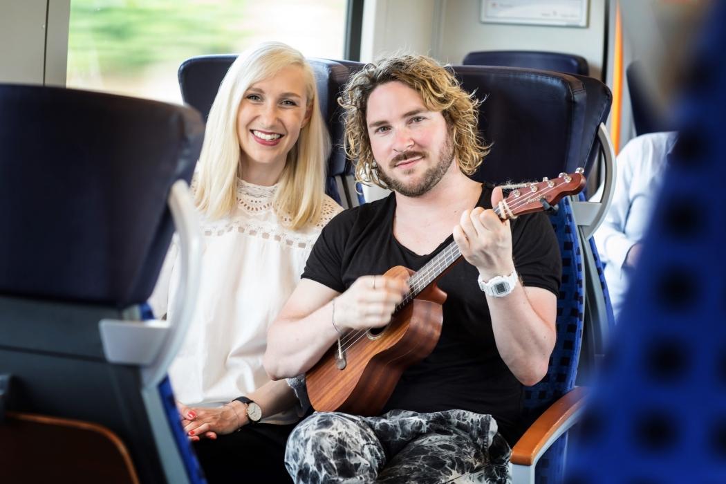 Interview mit Neo Kaliske in der Regionalbahn