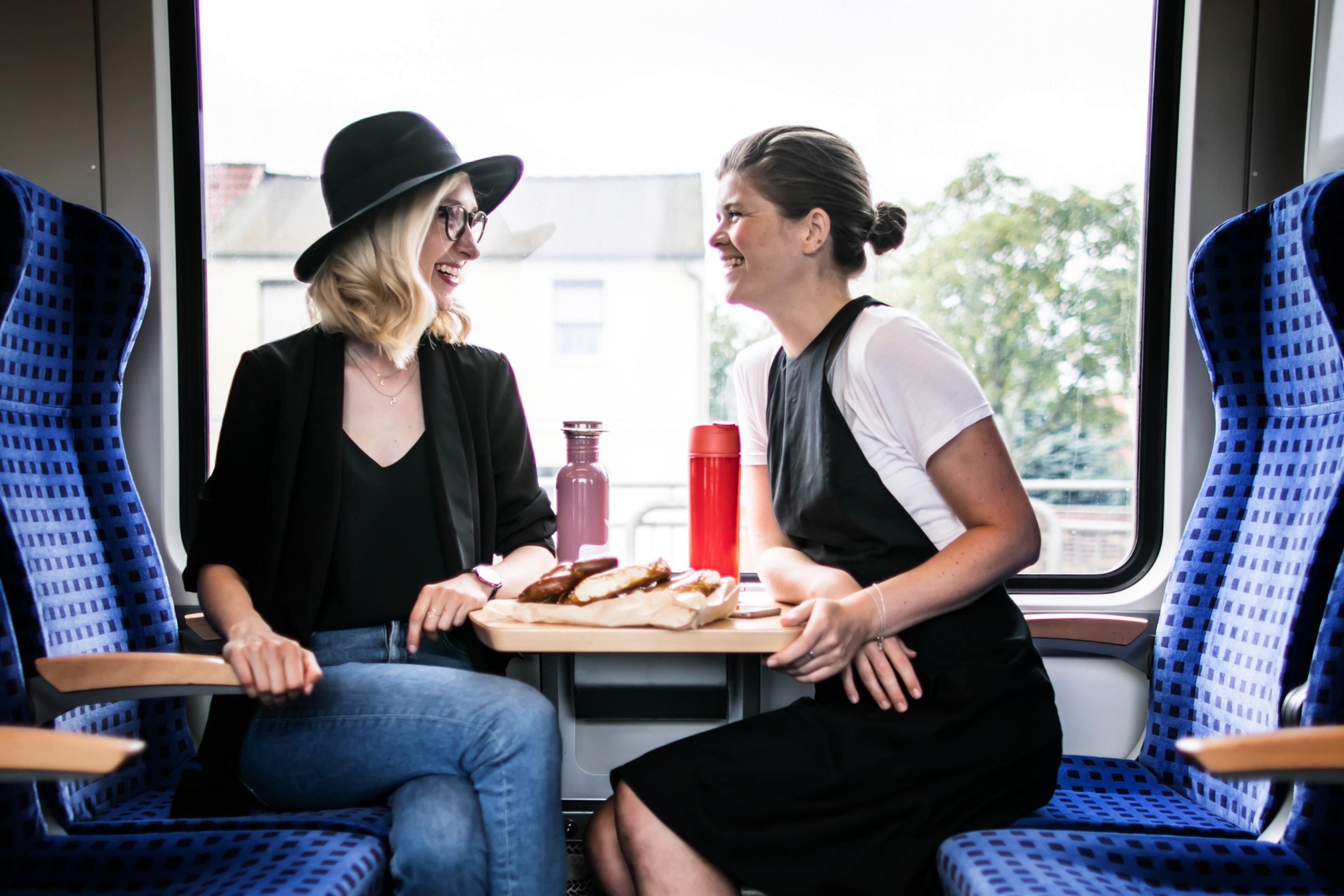 Eine Zugfahrt mit Maria Seifert