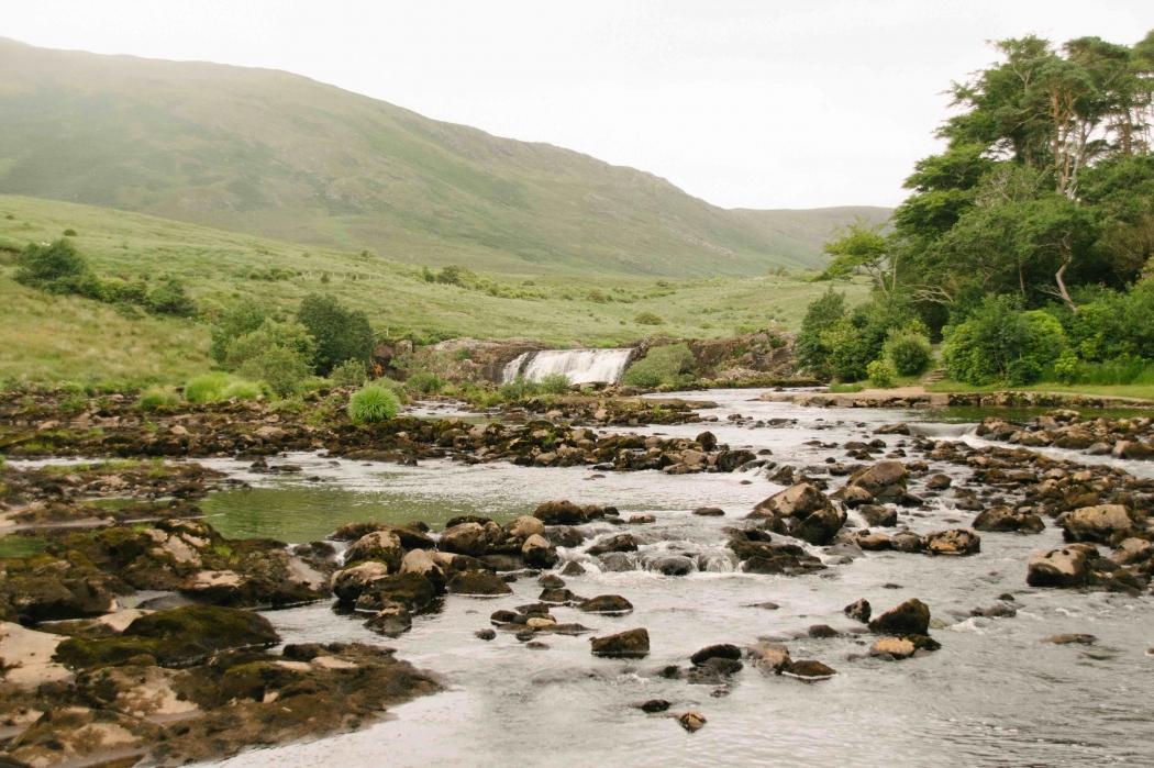 Irland Waterfall