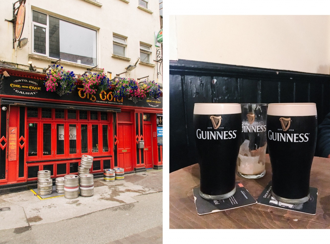 Irland Wild Atlantic Way Guinness Pub