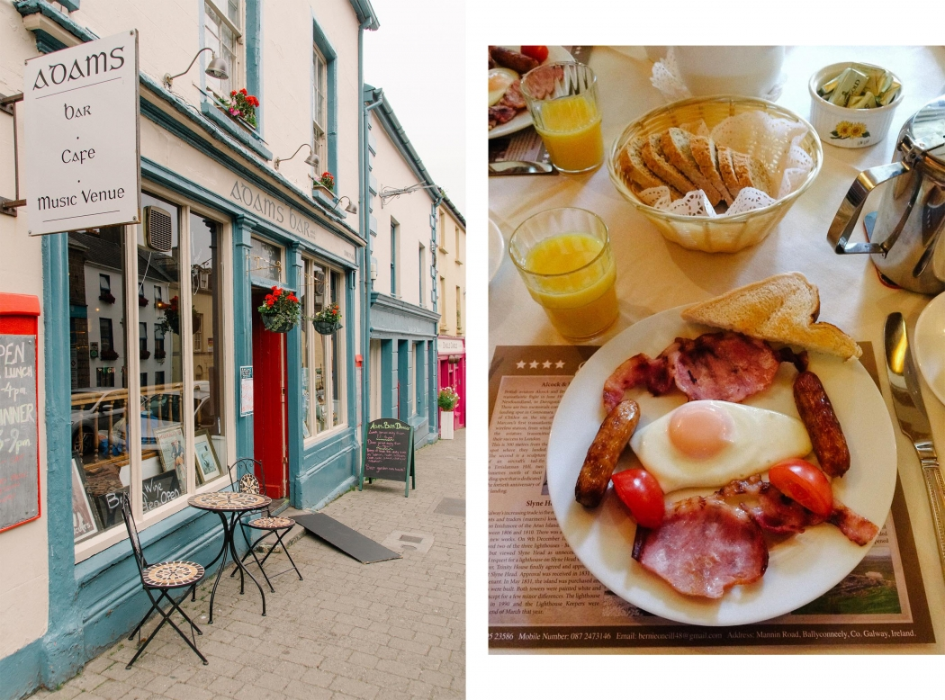Irland Wild Atlantic Way Irish Breakfast