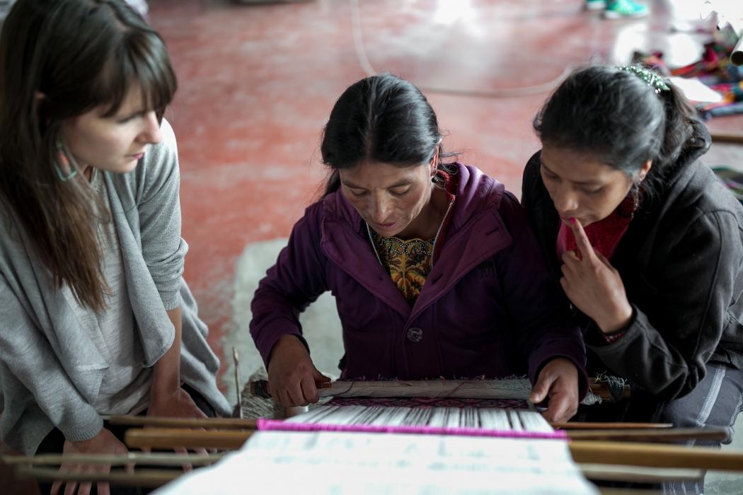 Nata y Limón Textildesign aus Guatemala