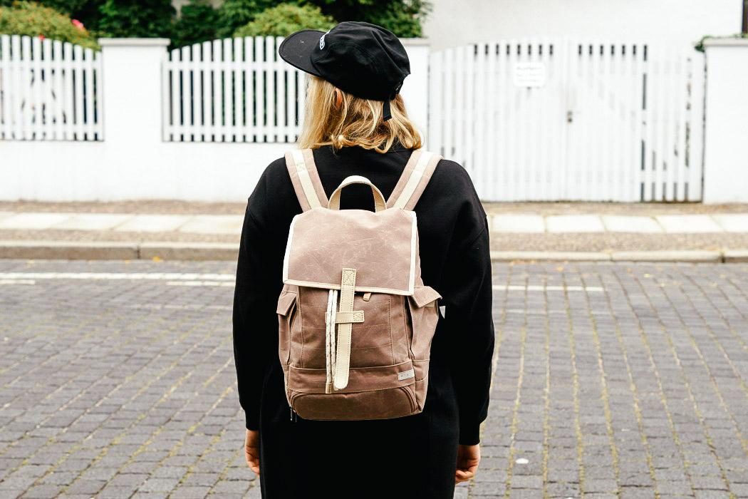 AEP Rucksack aus PET Streetwear