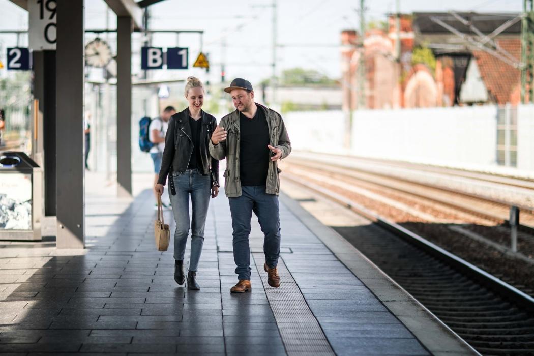Eine Zugfahrt mit Alexander Kuehn Goldhelm Schokoladenmanufaktur Erfurt