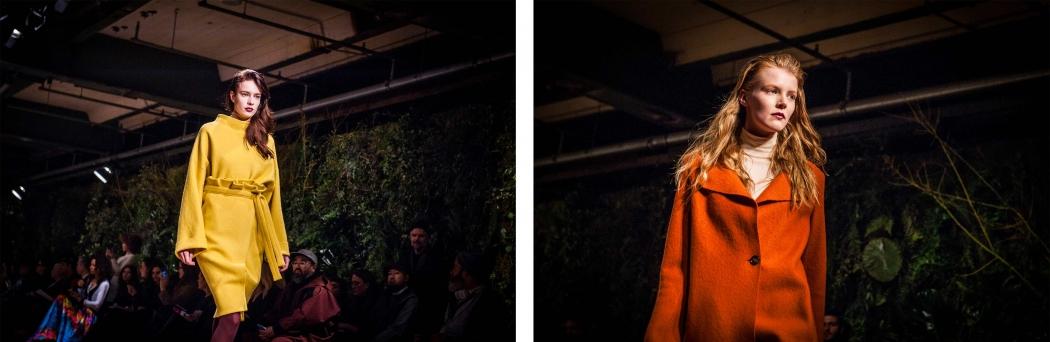 Fashion Week Berlin Green Fashionshow Backstage mit Aveda