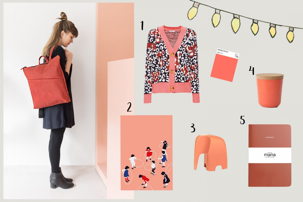 Living Coral Pantone Colour of the Year 2019