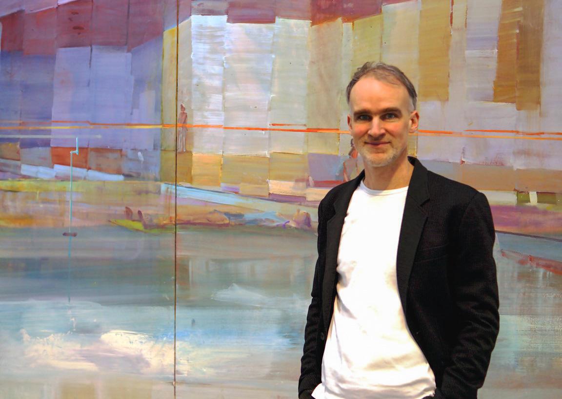Der Künstler Jörg Ernert