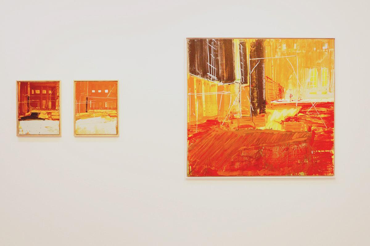 LICHTPROBE von Jörg Ernert in der G2 Kunsthalle