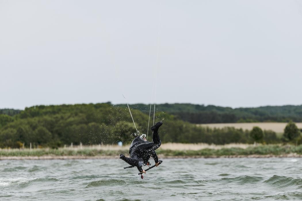 Kitesurfen lernen Ruegen Kite